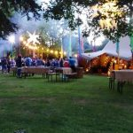 Festival with Tipi