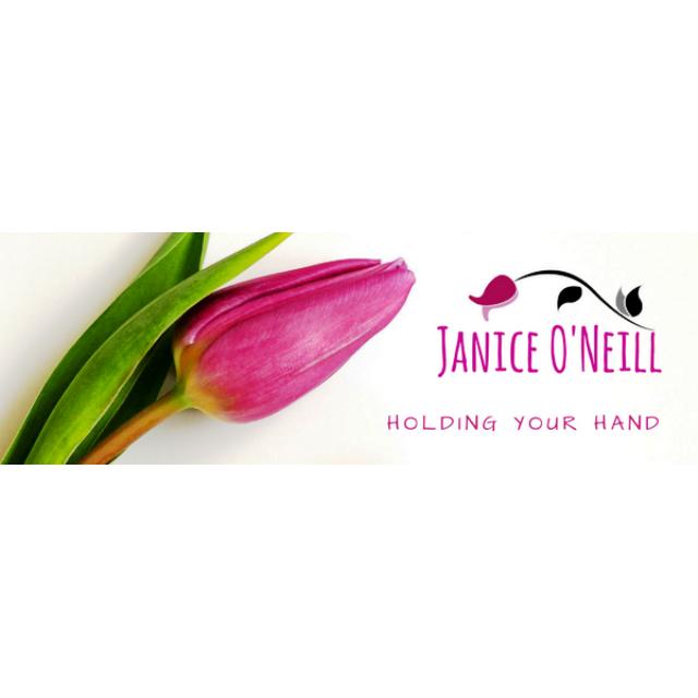 Holding your hand janice o'neill logo
