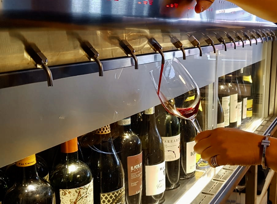 Bottles of wine the vineking
