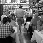 People in wine bar