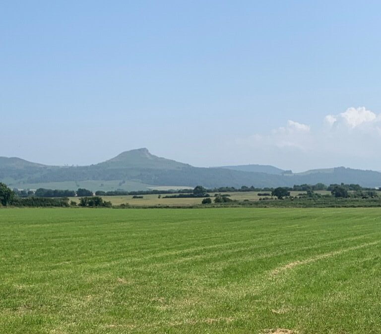 Roseberry Topping view