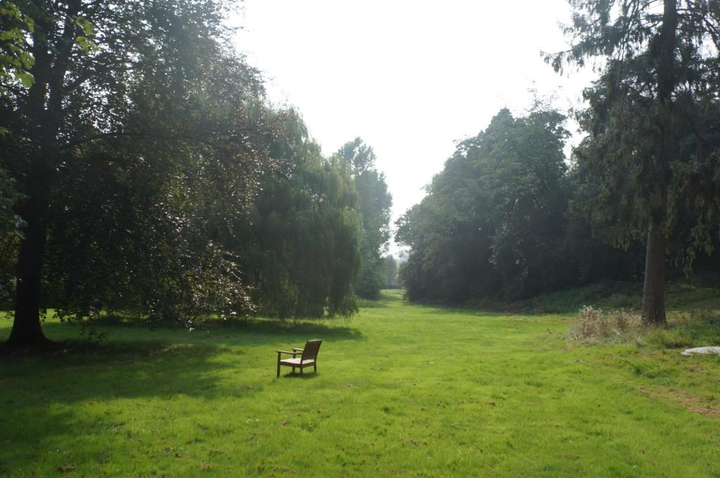parkland and bench